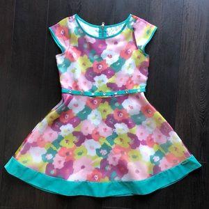 American Girl Floral Print Dress